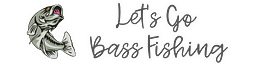 Lets Go Bass Fishing Logo